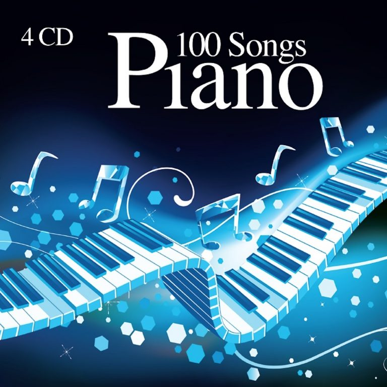 100 Songs Piano compilation album cover
