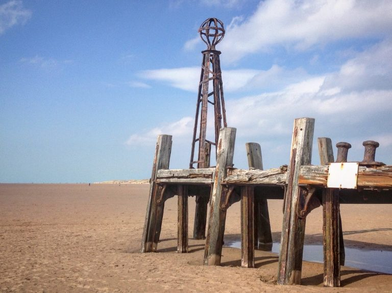 St Annes pier jetty on Crusader Bank