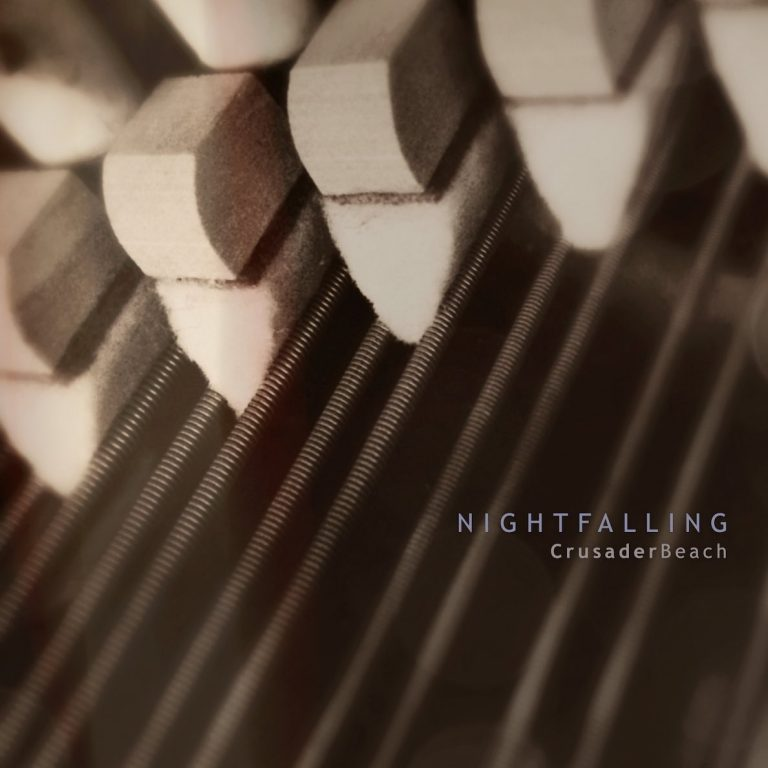 CrusaderBeach - Nightfalling - New Music Release - Single Cover Artwork
