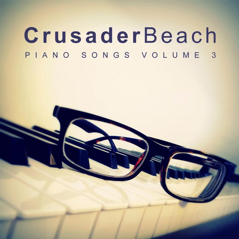 Piano Songs Vol 3 by CrusaderBeach - album cover