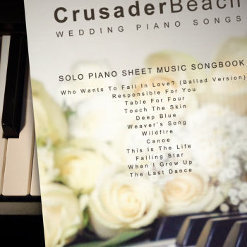 Wedding Piano Songs Songbook